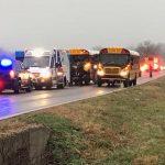 School-Bus-Crash-Division-and-Mumford-2-12-14-18: Photo by Intisar Faulkner, KTTS News