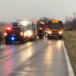 School-Bus-Crash-Division-and-Mumford-3-12-14-18: Photo by Intisar Faulkner, KTTS News