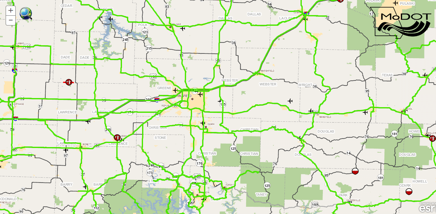 Road Conditions To Deteriorate During Winter Weather Today