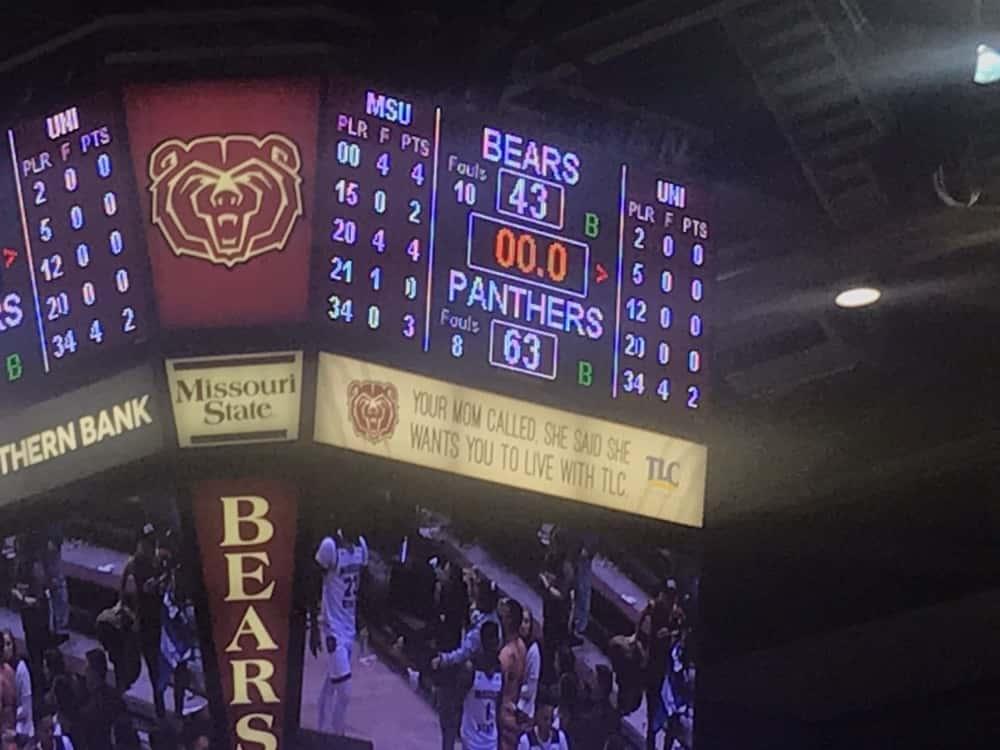 Northern Iowa Beats Missouri State Bears 63 43 At Jqh Arena Ktts