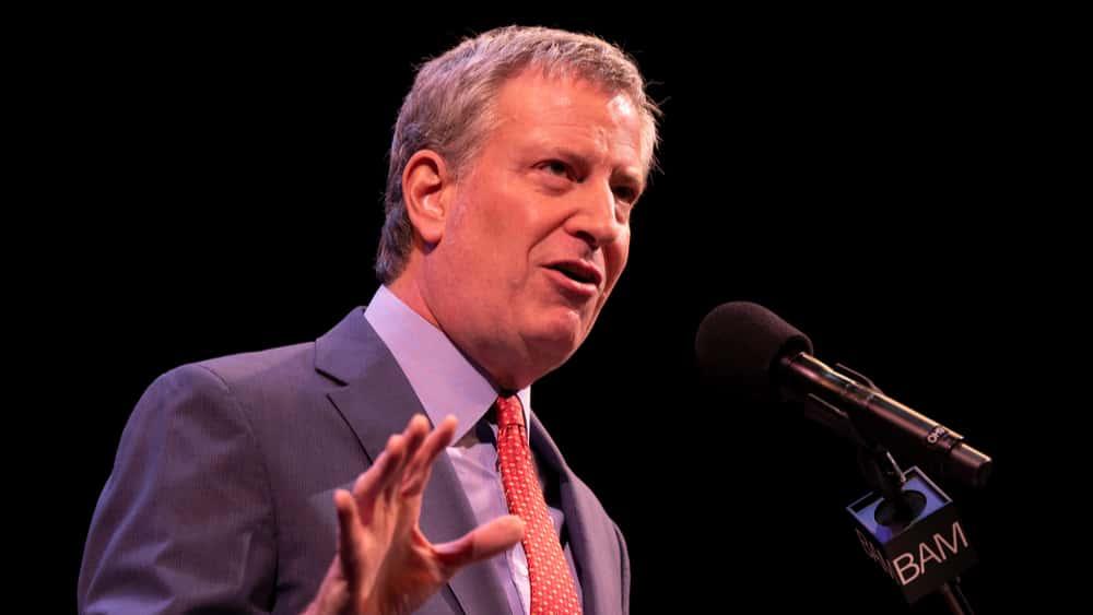 NYC Mayor Bill De Blasio Announces 2020 Run For President