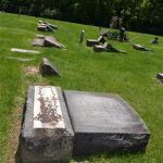 lee-cemetary-4: Vandalism at Lee Cemetery In Verona/ Courtesy Lawrence County Sheriff