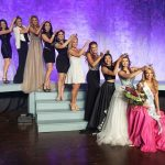 9 previous Miss Missouri Outstanding teen crown the reighning Miss Missouri