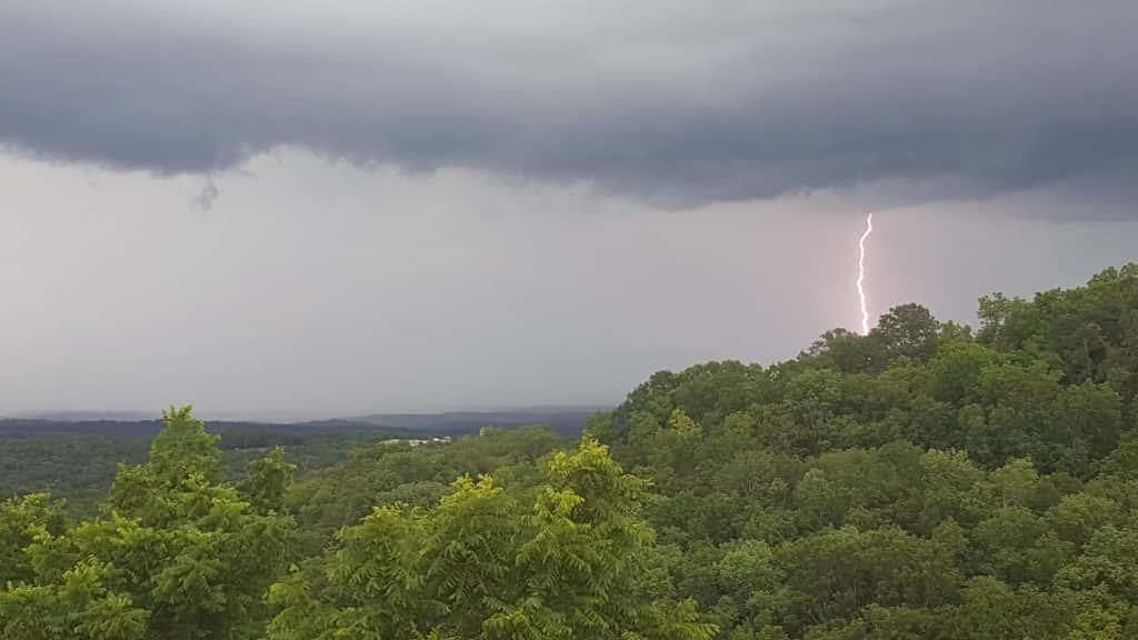 Storms Produce Torrential Rain, Dangerous Lightning In ...