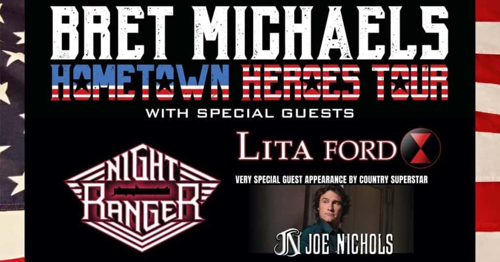 Bret Michaels Hometown Heroes Tour | 95 1 KICT-FM