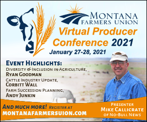 Montana Farmers Union 2021 Producer COnfernece