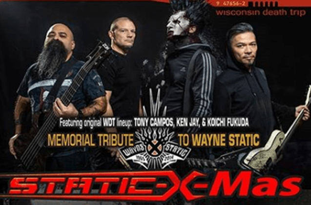 Static X-Mas December 11 at Knitting Factory Boise