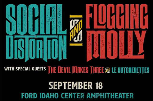 Social Distortion / Flogging Molly