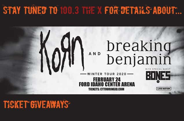 Korn, Breaking Benjamin, Bones UK