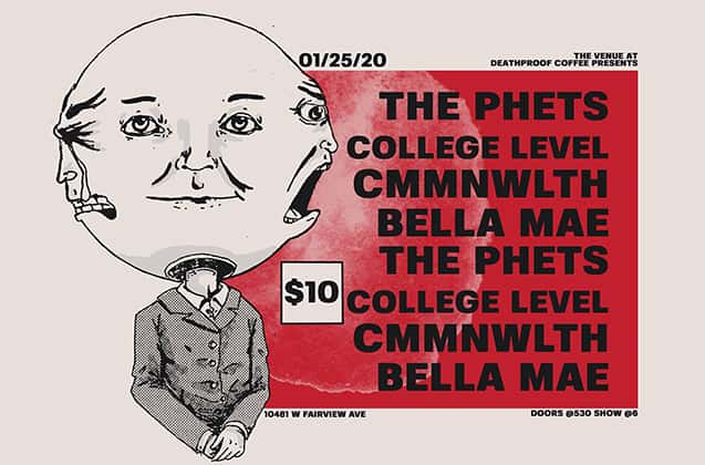 The Phets / College Level / Cmmnwlth / Bella Mae