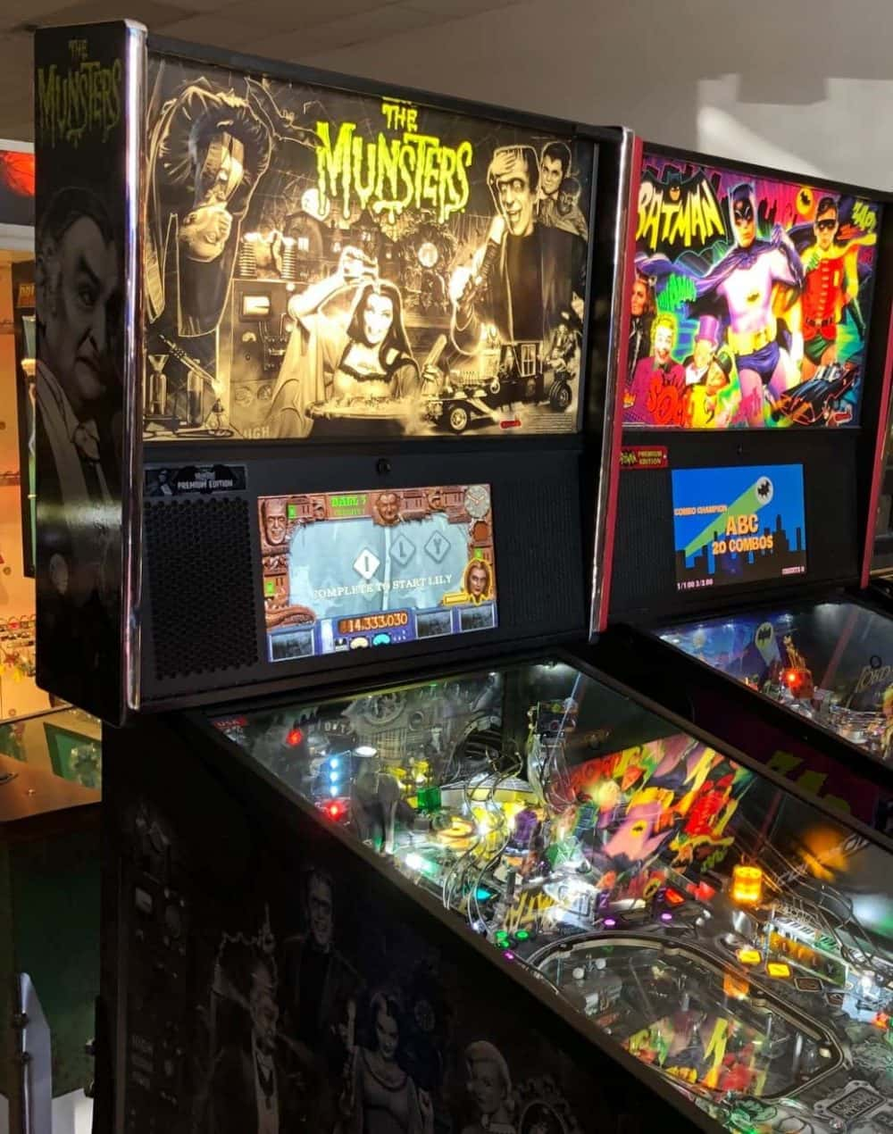 The Munsters Pinball Machine | 94 9 The River