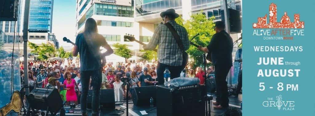 Downtown Boise Assoc Presents