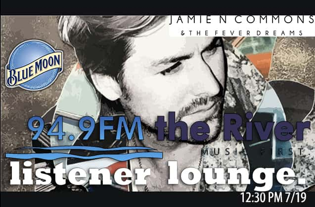 Live in the Blue Moon Listener Lounge, Its Jamie N Commons & The Fever Dreams