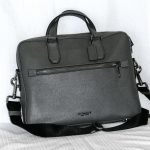 Coach_Briefcase: Men's of Women's briefcase style bag with optional shoulder strap