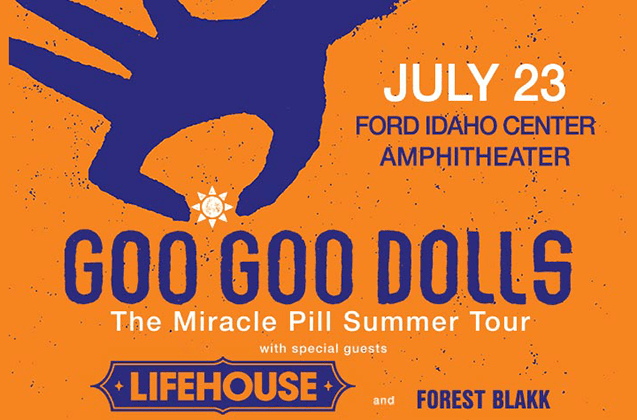 Goo Goo Dolls The Miracle Pill Summer Tour