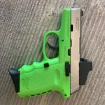 SCCY CPX 2 (Lime Green/Stainless, CT RED DOT) Semi Auto