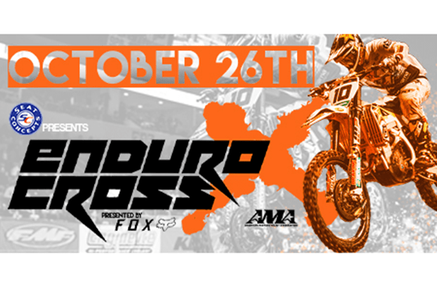The 2019 AMA EnduroCross Series final stop (Round 3) in Nampa, Idaho on October 26th.