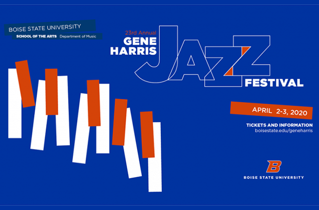 Gene Harris Jazz Festival April 2nd and 3rd