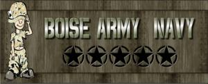 Boise Army / Navy
