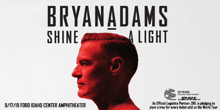 Bryan Adams Shine A Light 9/17