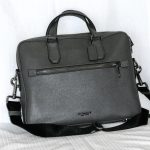 Coach: Men's or Women's briefcase style bag with optional shoulder strap