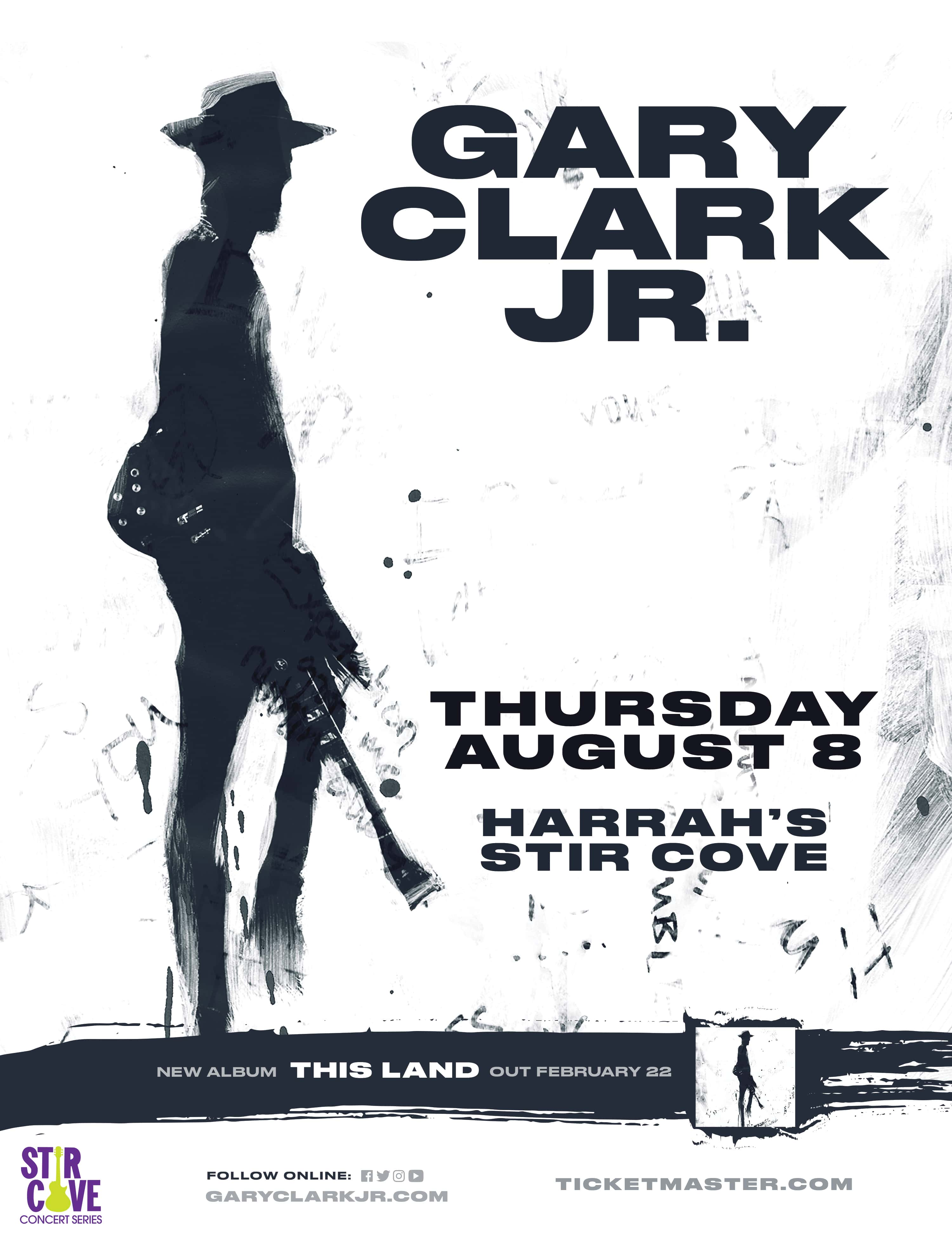 Gary Clark Jr  at Harrah's Stir Cove | Z92 The Rock Station