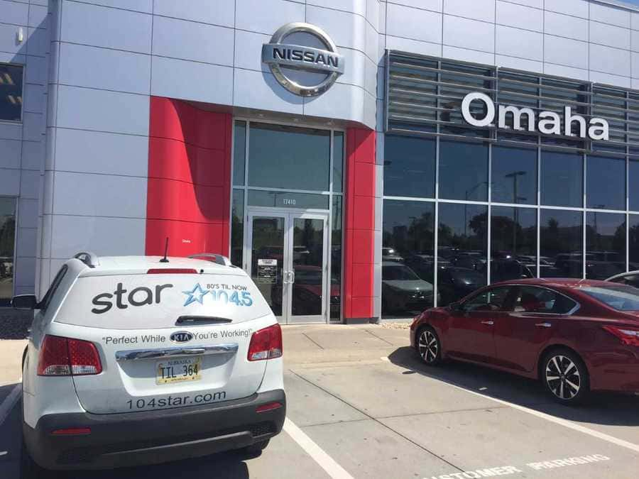 terri mccormick @ nissan of omaha | star 104.5 80's til now