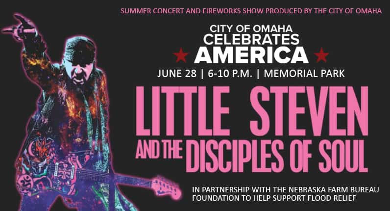 The City of Omaha Celebrates America Concert at Memorial