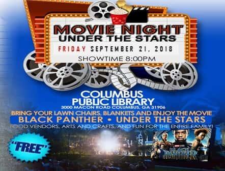Movie Night Under the Stars- Black Panther