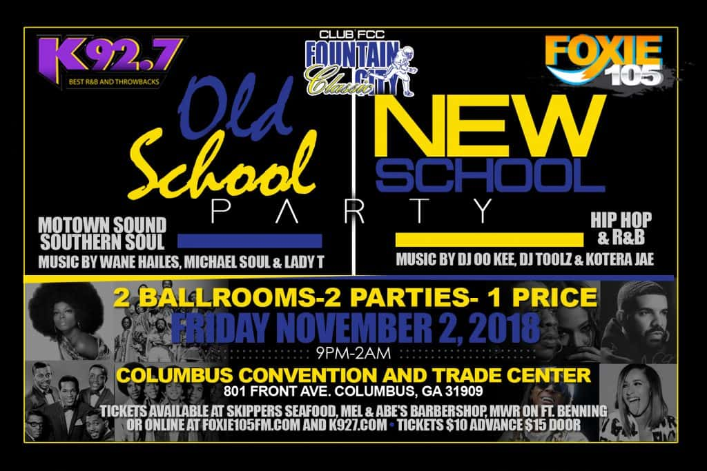 K92.7 Old School New School Party Tickets