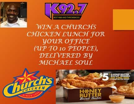 Churchs Chicken Lunch With Michael Soul