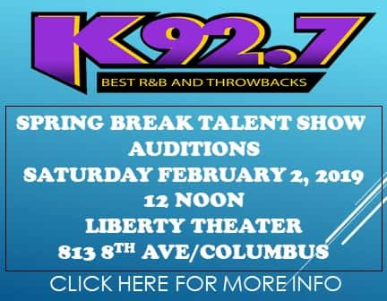 SPRING BREAK TALENT SHOW AUDITIONS- FEB 2 2019- 12NOON