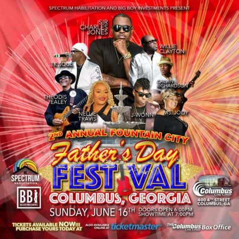 Father Day Blues Fest -June 16 2019