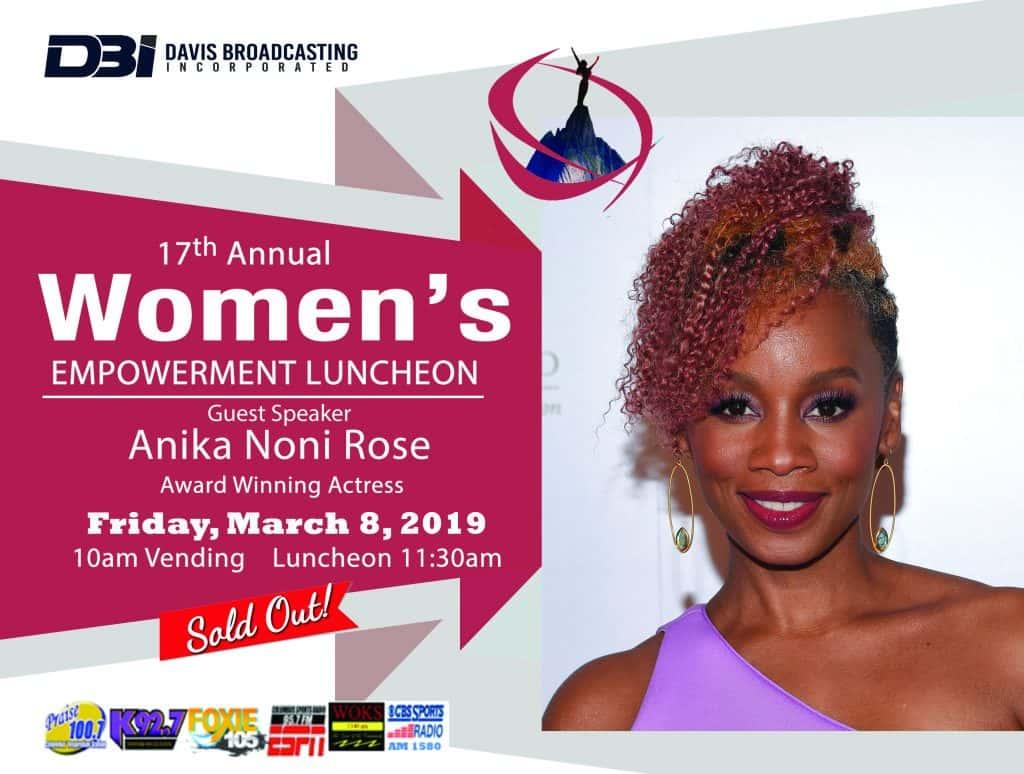 2019 Women's Empowerment Luncheon Pictures