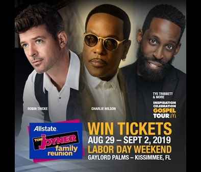 Win Tickets to the Allstate Family Reunion!