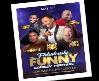FABULOUSLY FUNNY COMEDY FESTIVAL- MAY 1 2020