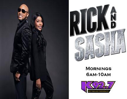Rick and Sasha- Mornings on K92.7