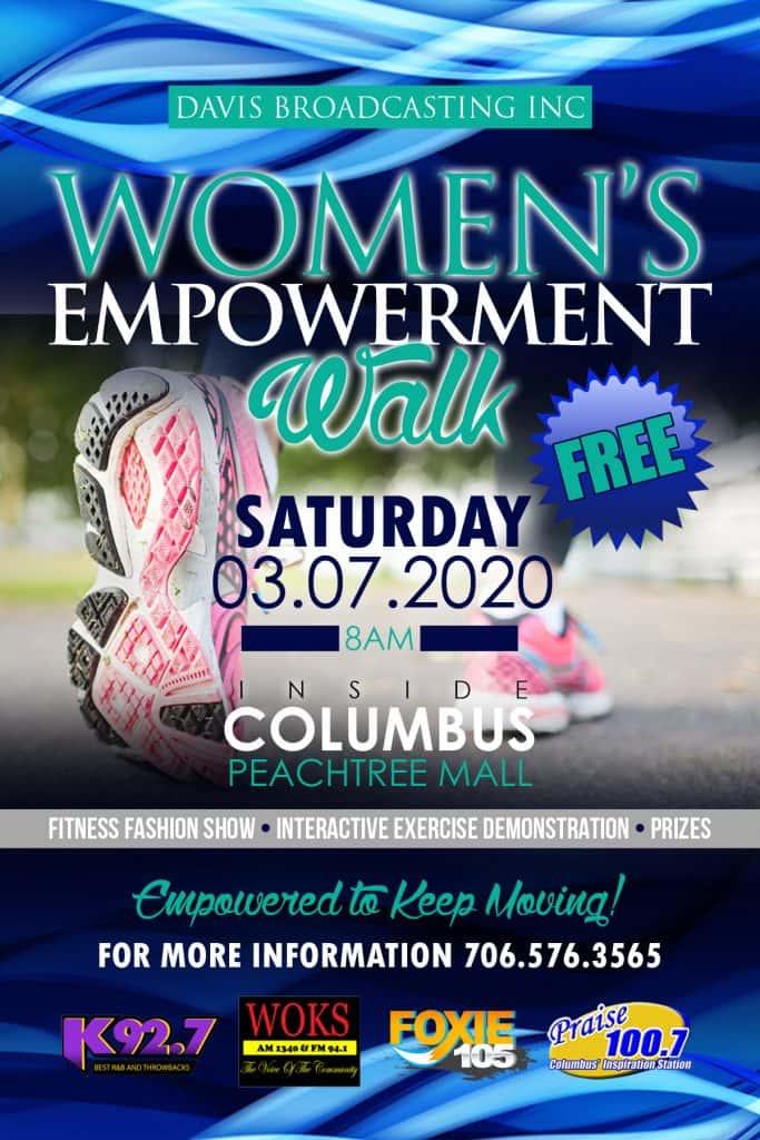 Womens Empowerment Walk-March 7 2020
