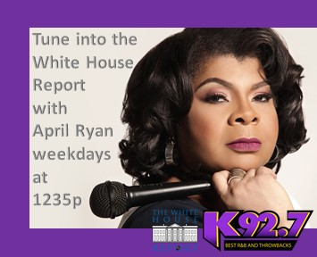 The White House Report w/April Ryan