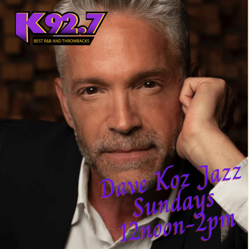 Dave Koz Jazz- Sundays 12n-2p