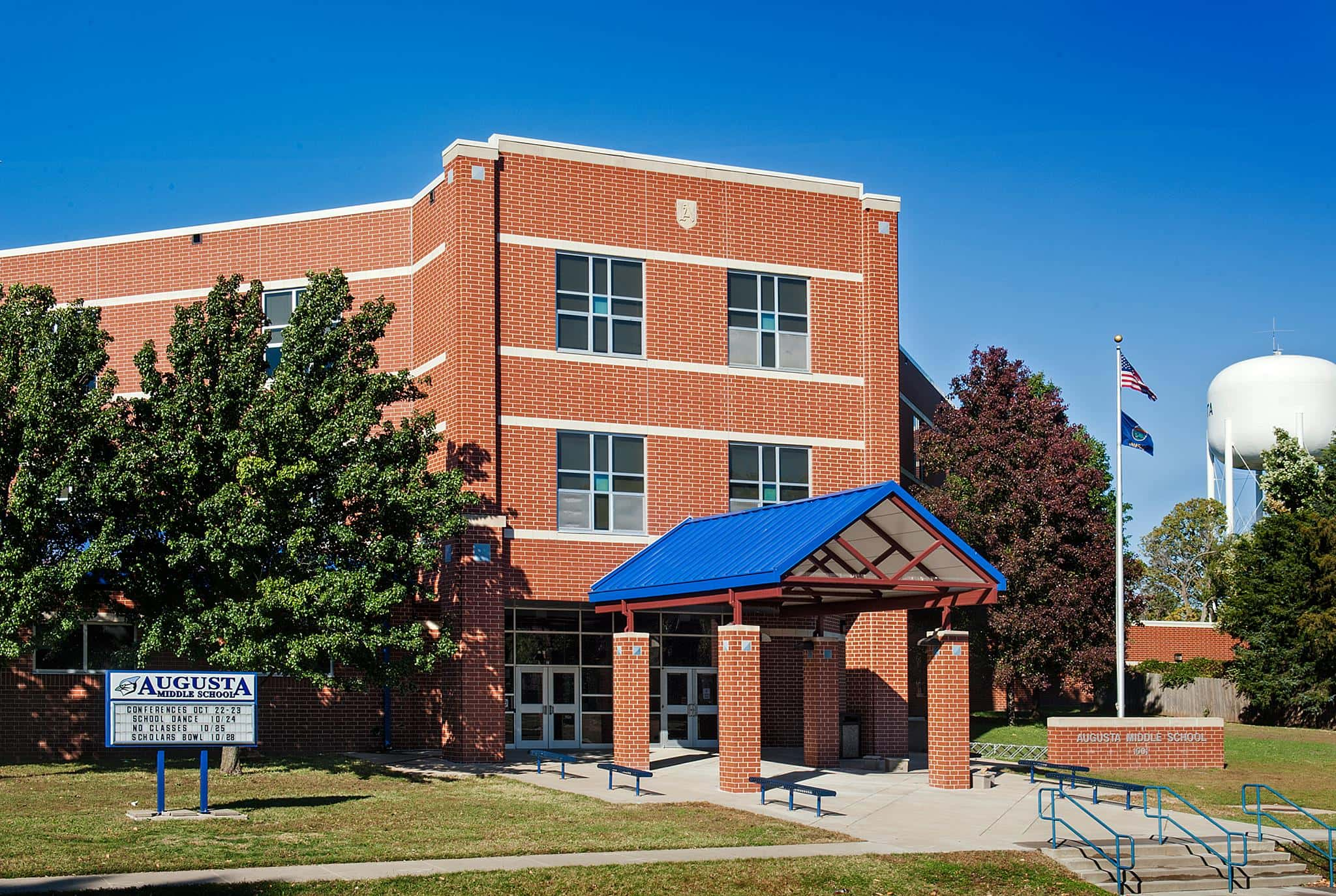 Augusta Middle School, courtesy USD 402/Facebook