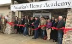 Gov. Jeff Colyer cuts ribbon at hemp academy in De Soto, Kan. (Source: Kansas Governor's Office via Twitter)