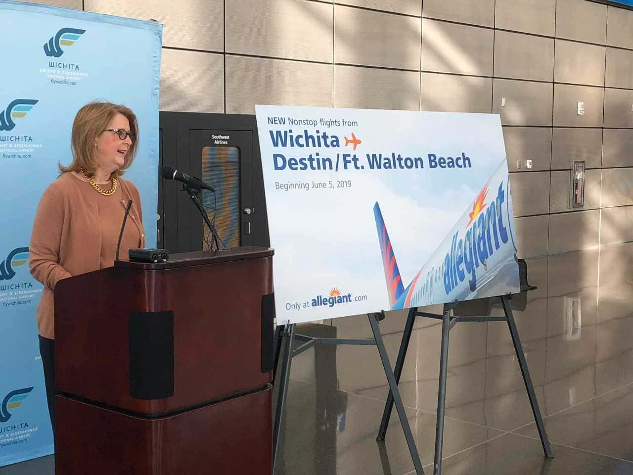 Allegiant Adding Direct Flights From Ict To Florida