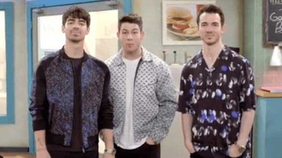 Jonas Brothers Performing on