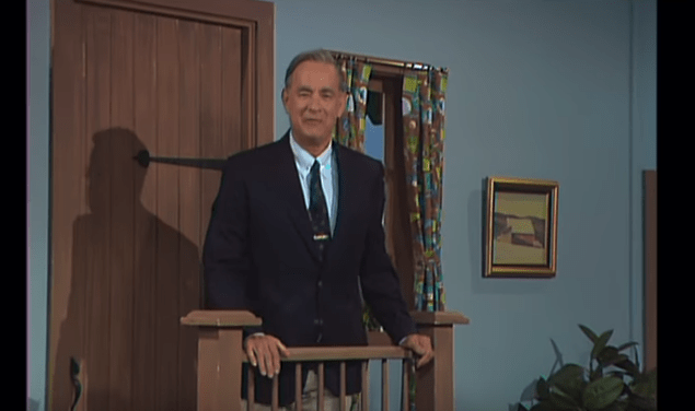 Tom Hanks Plays Mr  Rogers In