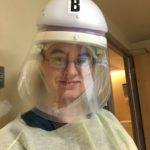 Cortney Brown.: This is my front line hero Cortney Brown. She is a Nurse at TMC. She works in the ER taking care of and helping the Covid 19 patients along with other patients. She is a Fab 50 and was TMCs November 2018 employee of the month. She is such a caring nurse risking her life everyday. She is an inspiration to everyone.