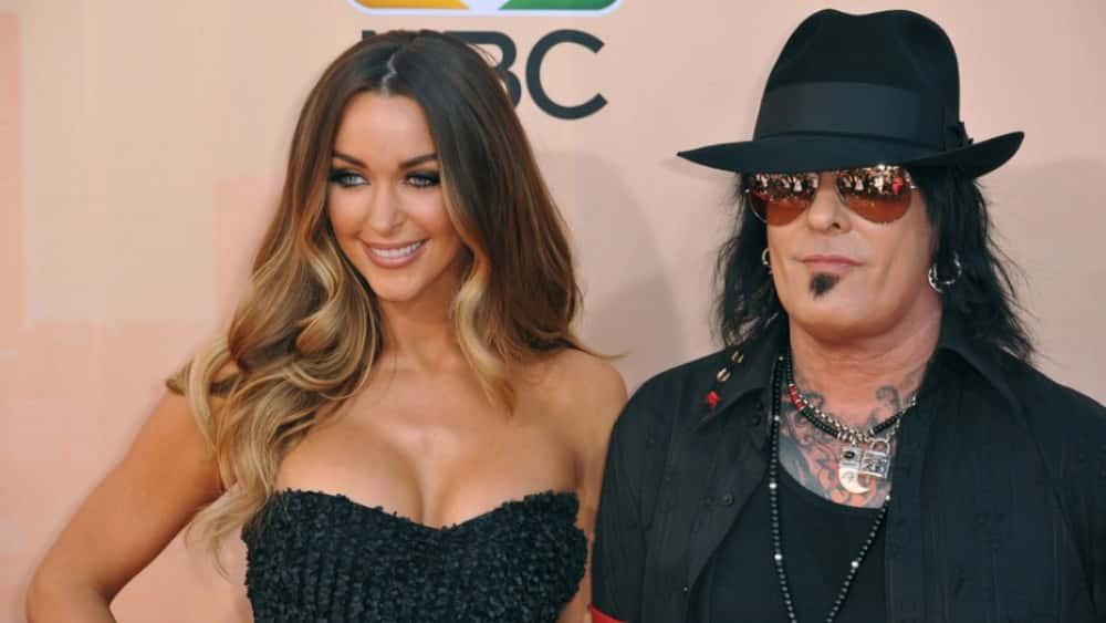 Mötley Crües Nikki Sixx And Wife Courtney Are Expecting