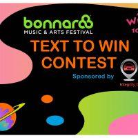 Bonnaroo Text to Win