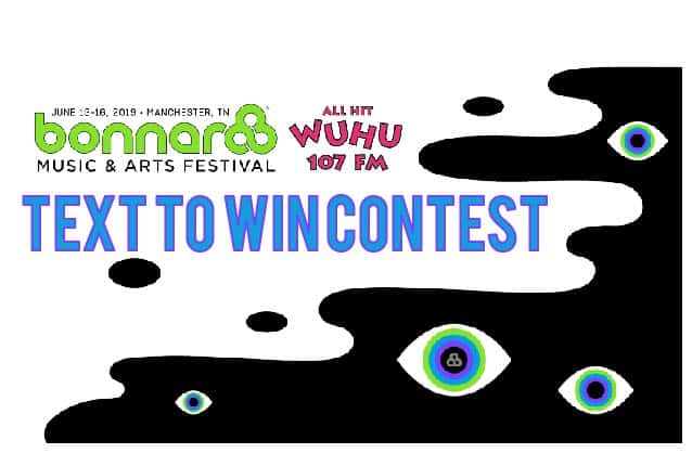 Bonnaroo Text to Win Contest Rules
