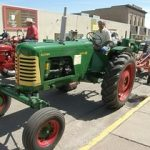 Classic Tractor: (Stan Horst and his Oliver tractor.)